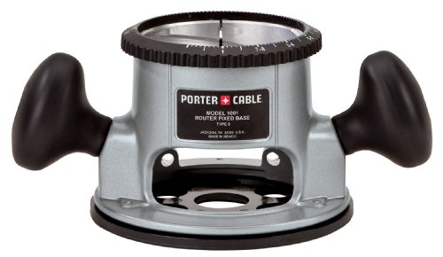 uter Base for PORTER-CABLE 3-1/2-Inch Diameter Router Motors ()