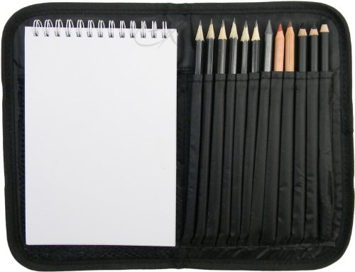 Compact and Portable Sketch Folio 1 Drawing Kit with Art ()