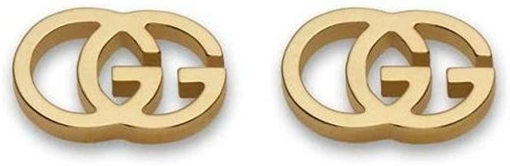 Gucci Running G Stud Earrings Gold One Size