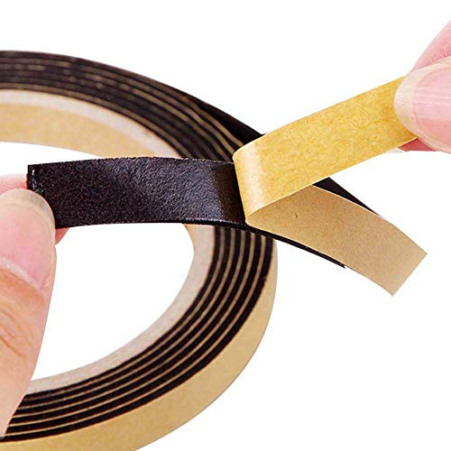 Sealing Strip, Meiwo 6Rolls Waterproof Gas Stove Cooker Slit Antifouling Sealing Strip Soundproofing Edge Tape Window Sealing Strip Kitchen Tool