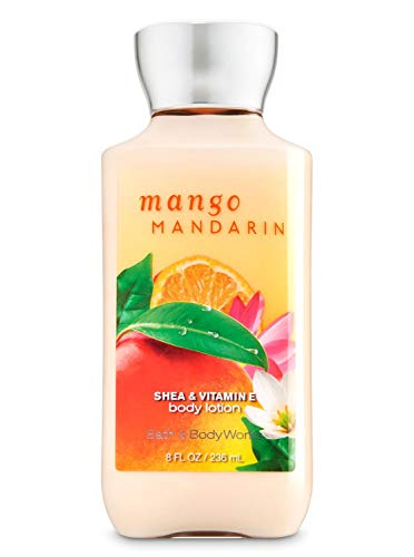 (Bath & Body Works Mango Mandarin Shea & Vitamin E Body Lotion, 8 Ounce)
