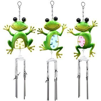 Homemade Frog Costumes For Toddler (Outdoor Cute Garden Collection Colorful Metal Frog Wind Chimes)