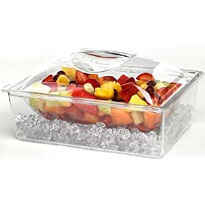Tropix 3 Piece Acrylic Chiller Container No