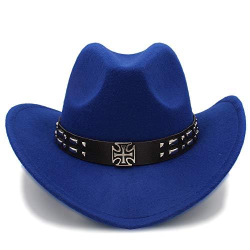 Sombrero de Vaquero Occidental, Gorra de Visera de los Hombres Gorras de Viaje de Las Mujeres Occidentales Chaqueta Ecuestre...