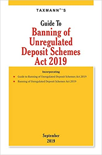 Guide To Banning of Unregulated Deposit Schemes Act 2019