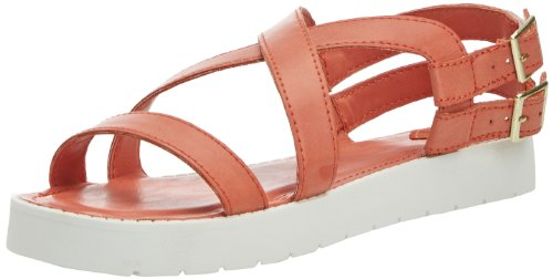 Rocket Dog Damen Tecla Sandalen Orange - Orange (Orange)