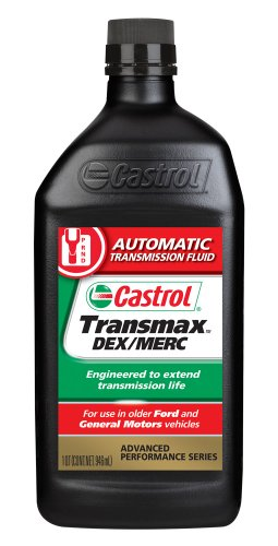 Castrol 06820 TRANSMAX DEX/MERC ATF, 1 Quart, Pack of 6