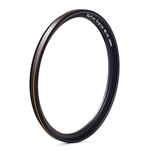 MC UV-Filter - Ultra Slim 16 Schichten Multi Coated Ultra Violet Schutz-Objektiv-Filter für Canon Nikon Sony DSLR-Objektiv (58mm)