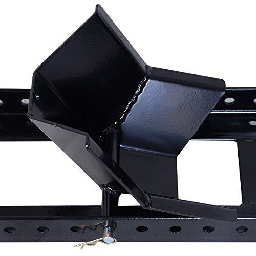 Goplus Adjustable Motorcycle Wheel Chock Stand Heavy Duty 1800lb Weight Capacity by Goplus (Image #3)