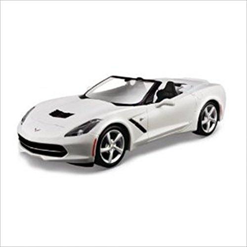 2014-chevrolet-corvette-c7-stingray-convertible-white-1-24-by-maisto-31501