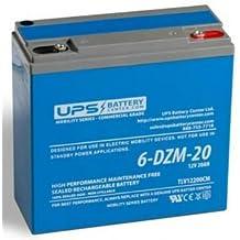 6-DZM-20 12V 20Ah eBike / Scooter Battery - Deep Cycle Sealed Lead Acid Battery