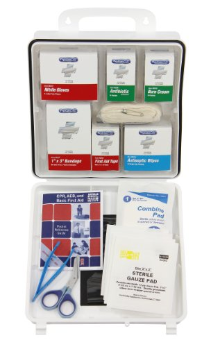 (PhysiciansCare by First Aid Only 90370 99 Pieces ANSI/OSHA Weatherproof Xpress First Aid Kit with Refill System and)