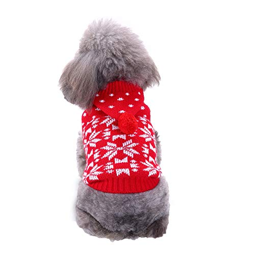 Geetobby New Pet Hoodies Sweater Dog Cat Winter