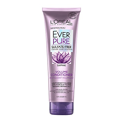 Pure Volume Conditioner - L'Oréal Paris EverPure Sulfate Free Volume Conditioner, with Lotus Flower, 8.5 Ounces
