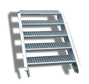 Niveau 5 Niveaux De Acier Escalier Largeur 60 Cm Etage