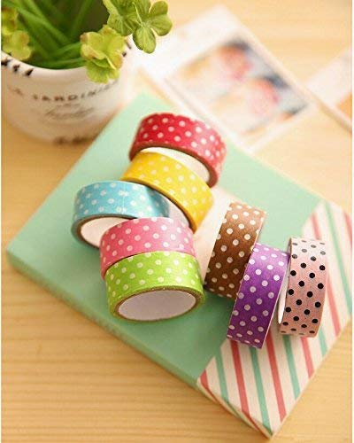Hilai Decorative Washi Tape Cartoon Paper Tapes Adhesive Scrapbooking for DIY Arts and Crafts Room Decoration 3PCS