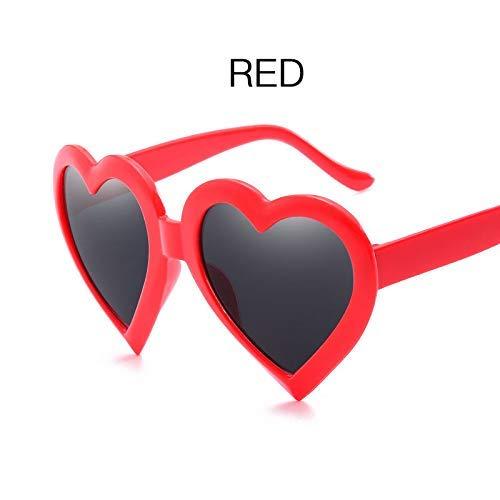 Love Heart Shaped Sunglasses Women Brand Design Sun Glasses Feminine Vintage Mirror Blue Sunglass Female Eyewear Eyeglass
