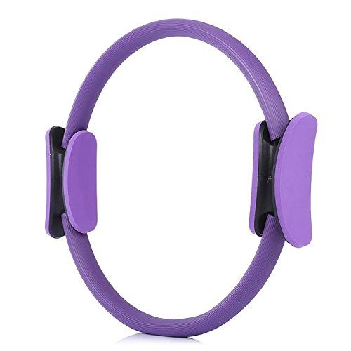 Pilates Ring Pro – 14 Pulgadas – Ultra Fit Interior Muslo mágico círculo – Cuerpo equilibrado Resistencia...