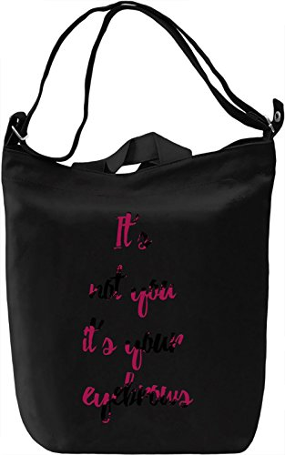 Nice Eyebrows Borsa Giornaliera Canvas Canvas Day Bag| 100% Premium Cotton Canvas| DTG Printing|