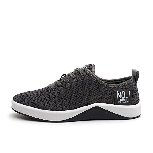 Men Fly-woven Sneakers,Atmungsaktive Mesh Freizeitschuhe,Hunderte Von Running Shoes B