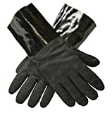 G & F Products BBQ Gloves Grill Gloves Insulated waterproof/oil & heat resistant BBQ, Smoker, Grill, and Cooking Gloves. Professional barbecue & grilling -1 pair (13 Inch)