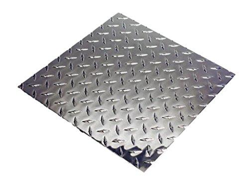 Aluminum Diamond Plate 3003 .125 X 4' x - Aluminum Black Plate Diamond