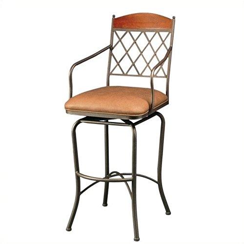 Pastel Furniture Napa Ridge Swivel Barstool 30