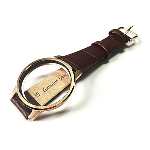 YOURSPORT Leather Band for Misfit Shine 2, Rose Gold