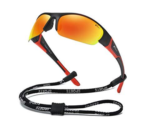 Bevi Sports Sunglasses Polarized UV400 Mirror...