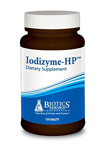 Cellular Energy (Biotics Research Iodizyme-HP™ – Iodine, Thyroid Support, Cellular Metabolism, Promotes Energy, Supports Metabolic Function, T3, T4, Tsh.   120 Tablets)