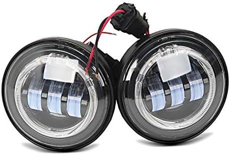 LED Zusatzscheinwerfer f/ür Yamaha XVZ 1300 A Royal Star Tagfahrlicht schwarz