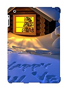 New Arrival Premium 2/3/4 Case Cover For Ipad (happy New Yearnow Cottage ) wangjiang maoyi