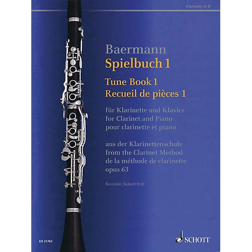 Tune Book 1, Op. 63 Woodwind Solo Series Softcover Pack of - Solos Softcover