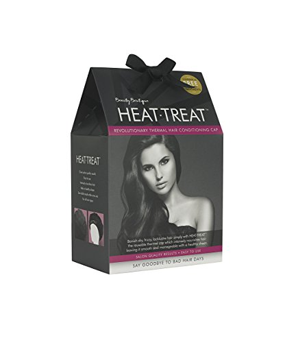 Heat-Treat - The Thermal Heat Conditioning Hair Cap with 3 Treatments included (Microwave Hair Conditioning Cap compare prices)