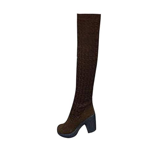 Moda Invierno Botas de Nieve Mujer Interior Caliente Suave Antideslizante Zapatillas de Estar por Casa Botas Casual Plataforma Casual Women Shoes Mantener ...
