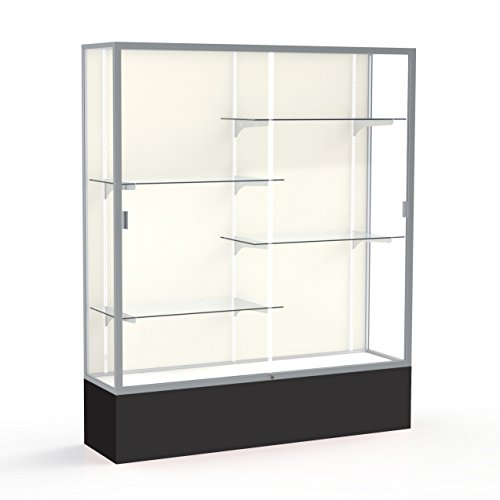 (Waddell Spirit Plaque Back Display Case, 60W by 72H by 16