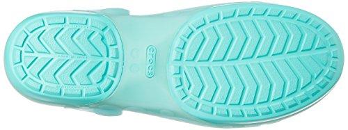 Celeste Clog sea island Fiore Green verde Foam Crocs Carlie StfxwwT