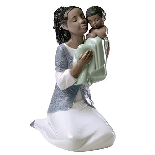 Lladro Nao Porcelain Figurine In Loving Arms ()