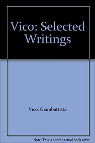 Buy Vico Selected Writings Book Online At Low Prices In