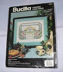 Bucilla Counted Cross Stitch Kit Our Little House 14 x 11 -