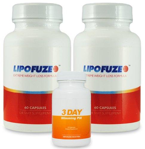 LipoFuze 2 bouteilles et 1 gratuit 3 DSP - Best Fat Burner - Fat Burner pilule et booster le métabolisme - Best Fat Burner 2013 et Metabolism Miracle