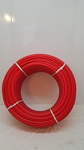 NEW Certified Non Barrier 1' - 500' coil - RED PEX for Heating and Plumbing by Badgerpipe