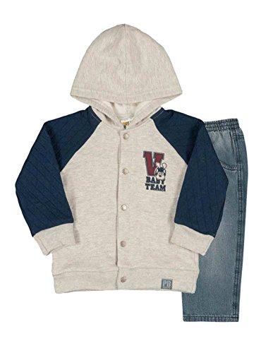 Infant Boys Denim Outfit - 7