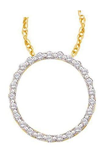 0.5 Ct Diamond Pendant - 6