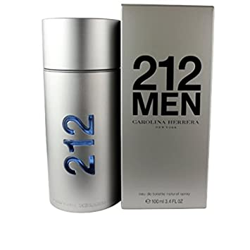 CAROLINA HERRERA 212 MEN EDT SPRAY 100ML 3.4OZ NEW
