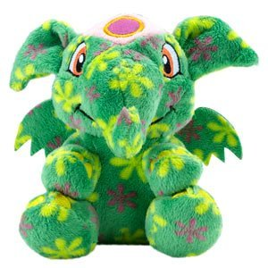 (Neopets Collector Species Series 5 Plush with Keyquest Code Disco Elephante)