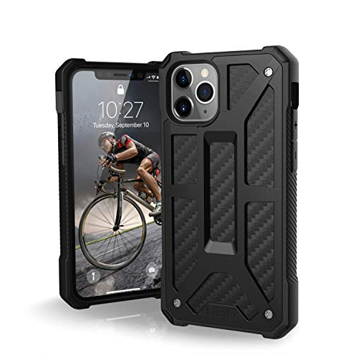 UAG Designed for iPhone 11 Pro [5.8-inch Screen] Monarch Feather-Light Rugged [Carbon Fiber] Military Drop Tested iPhone Case