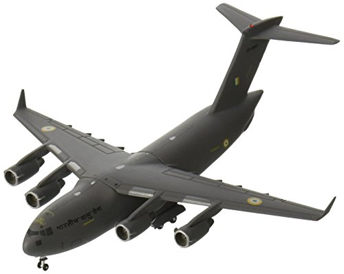 GeminiJets Indian Air Force C-17 Globemaster III Die Cast Vehicle (1:400 Scale)