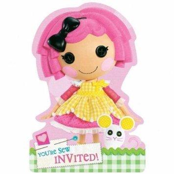 Lalaloopsy Party Invitations (toy) -