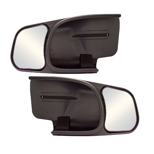 Cipa Towing Mirror - CIPA 10800 Chevrolet/GMC Custom Pair Towing Mirrors